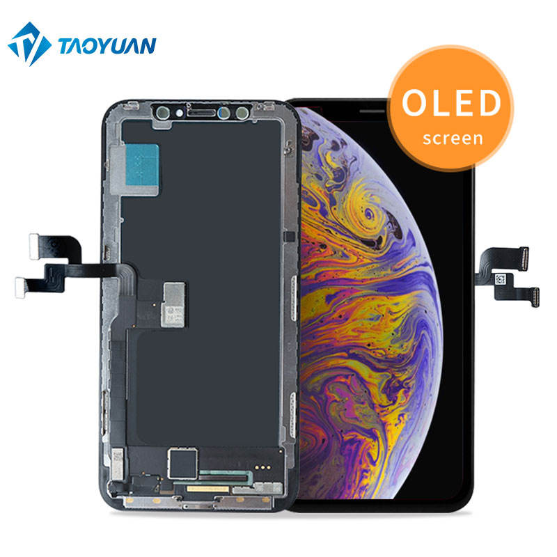Custom mobile phone 10 lcd screen display for iphone,Cellphone display lcd OLED screen replacement for iphone X