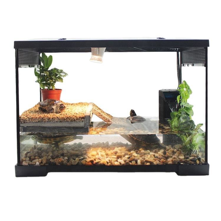 Eco-Friendly Transparent Glass Glass Fish Tank Space Design