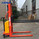 1000kg 2000kg 1t 2t standard stacker forklift 1 ton 2 ton semi electric stacker price