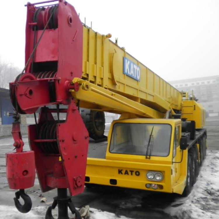 used 80ton good kato truck crane /used kato truck crane nk800e in good condition