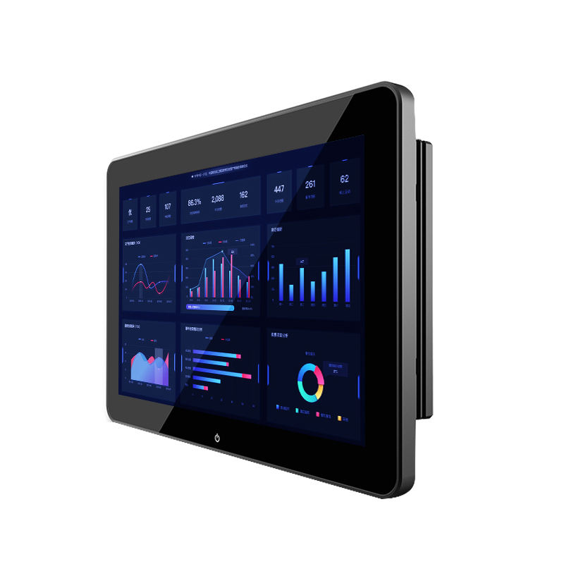 A parete VESA mount <span class=keywords><strong>tablet</strong></span> android da 10.1 pollici wifi impermeabile industriale di tocco capacitivo <span class=keywords><strong>pc</strong></span>
