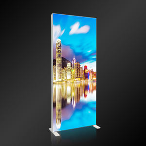 slim outdoor advertising display led frames poster light box