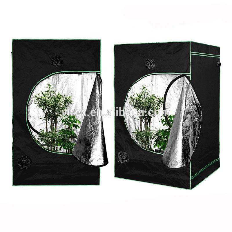 120*120*200cm Hydroponic 600D Mylar Indoor greenhouse grow tent