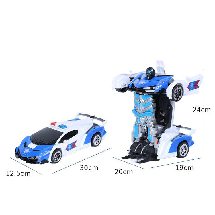 <span class=keywords><strong>2</strong></span> In 1 Transformatie Afstandsbediening Auto Een Sleutel Vervorming Robot Kinderen <span class=keywords><strong>Speelgoed</strong></span> Met Afstandsbediening Gebaar