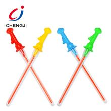 New arrival outdoor play set toy 16pcs magic plastic stick giant bubble wand
