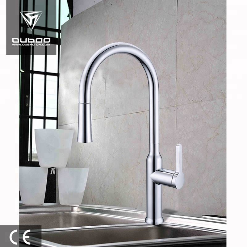 Modern deck mounted kitchen sink faucet with cUPC