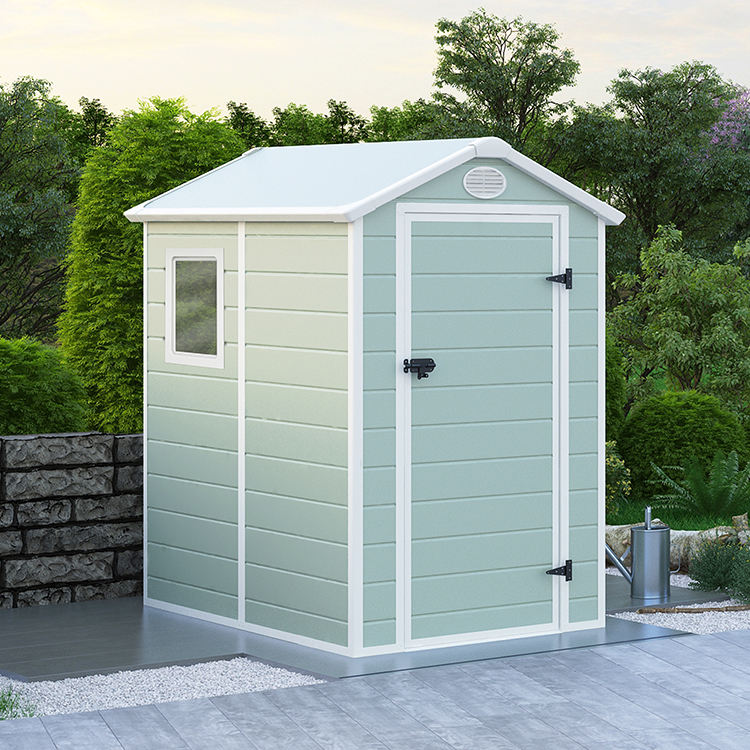 2020 new model plastic garden sheds storage outdoor house