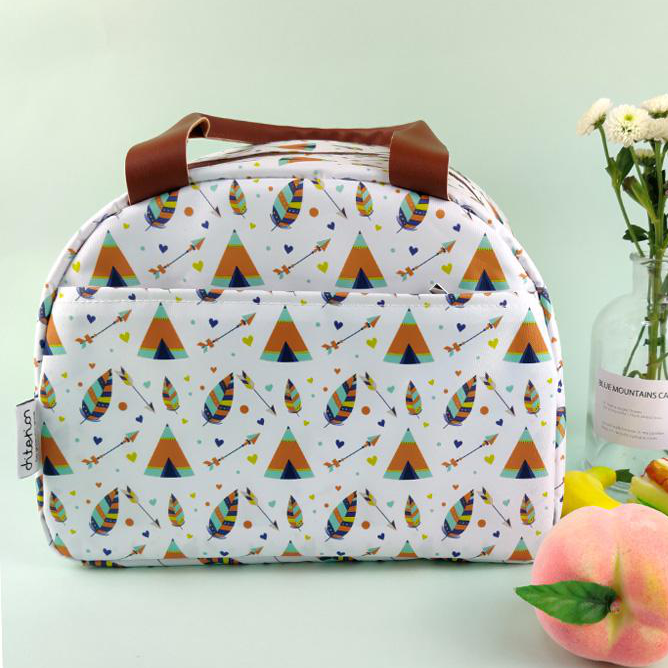 Fondofold RPET Classic Multi-purpose Food Insulated Cooler Bag For Picnic School Party Fruit Snack Lunch Ice Bag Cool Box