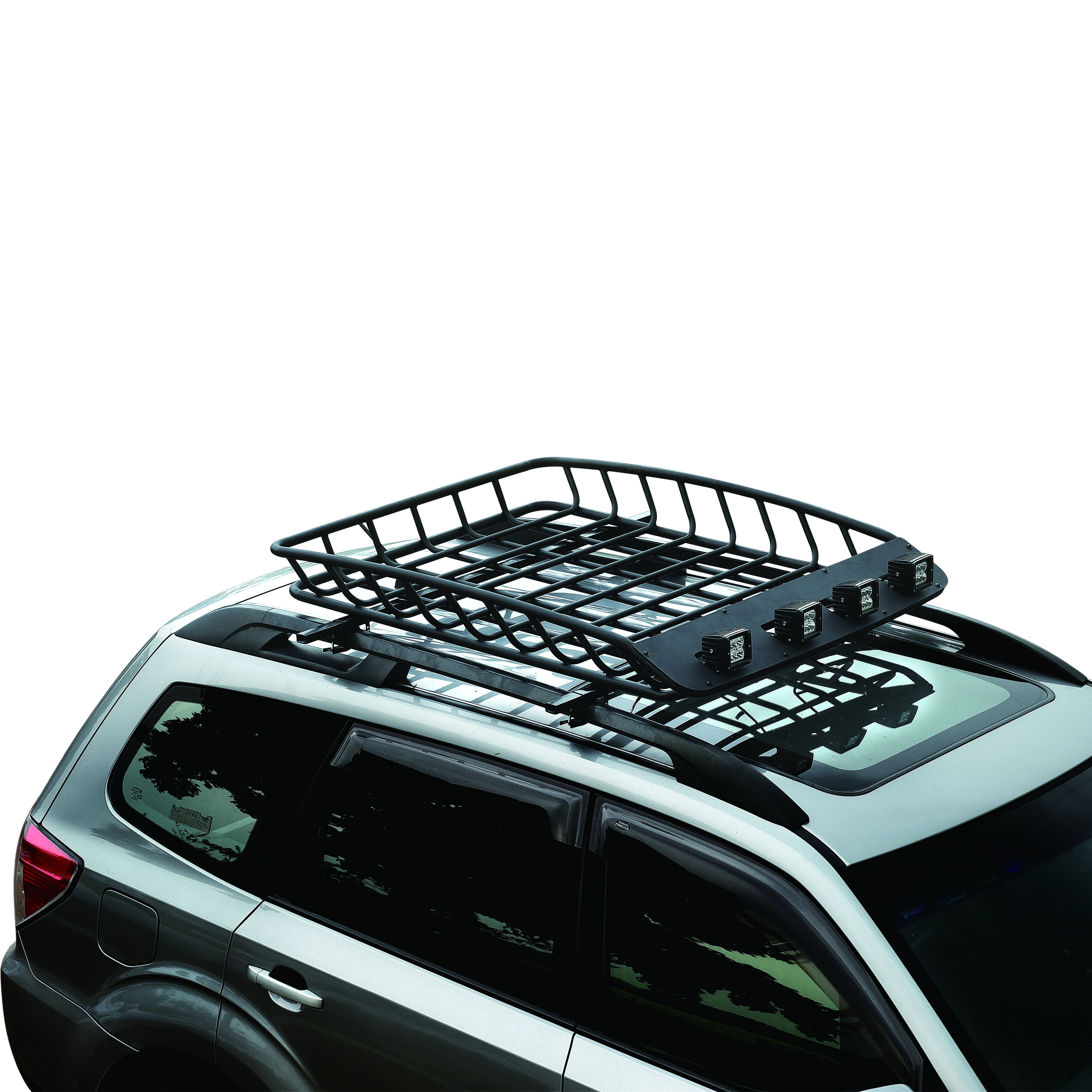 Automobile Spare Parts Universal Car Roof Racks 4x4 Roof Basket with LED Light