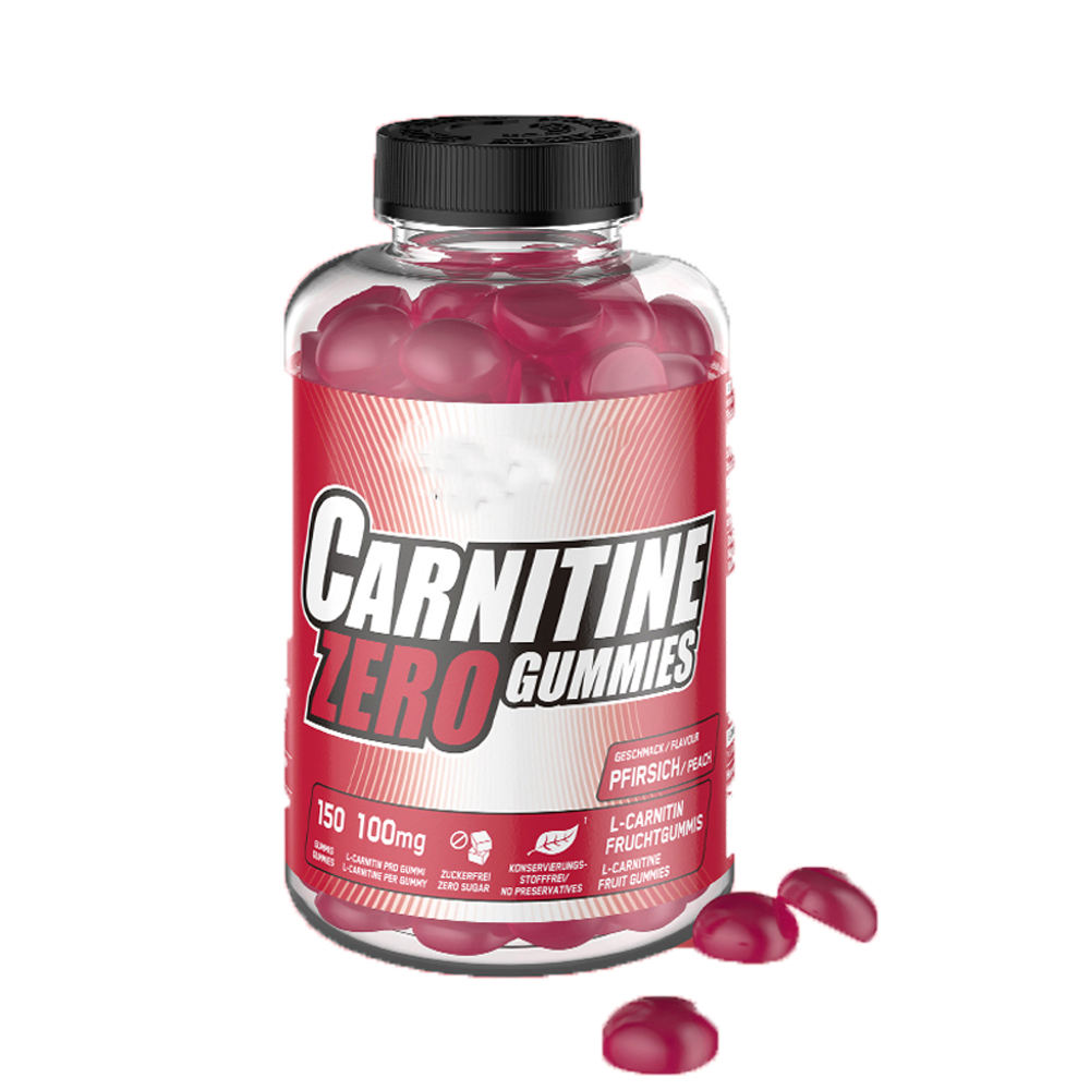 Sugar Free BCAA Zero Carnitine Adult Pre workout Vegan Gummy