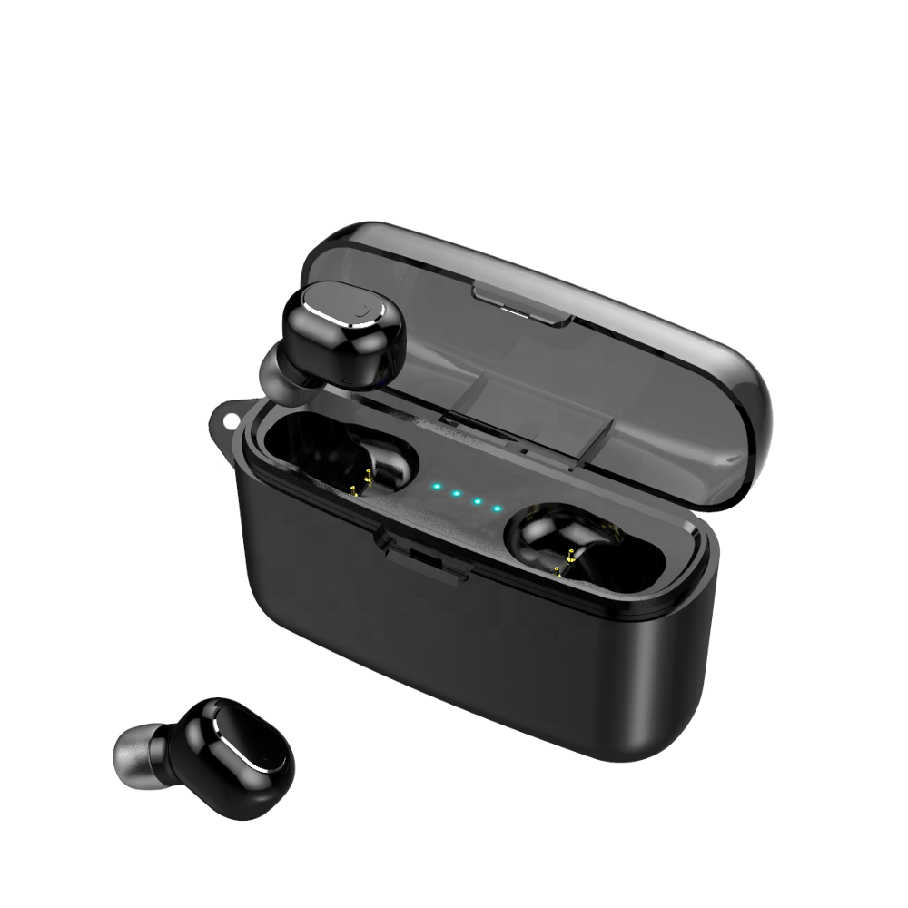tws headphone headset cheap M8-B 5.0 In-ear True Wireless Earbuds Headphone Earphone With 2000mah Charging box