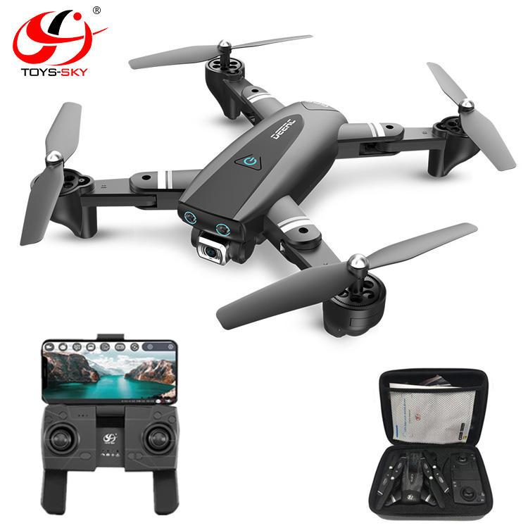 S169 Upgrade 2.4G Folding Optical flow 18 mins Long flight time Professional RC Drone with Camera 4K HD For Selfie easy Control
