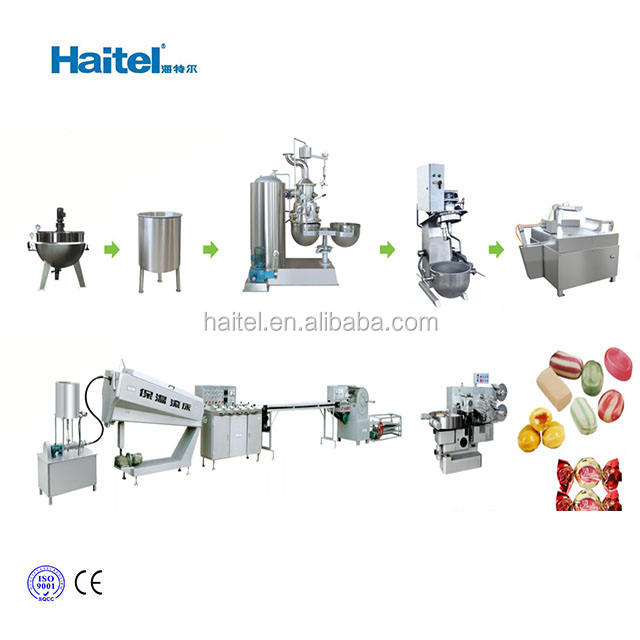 Factory China Price Small Soft Hard Candy Machines With Quality