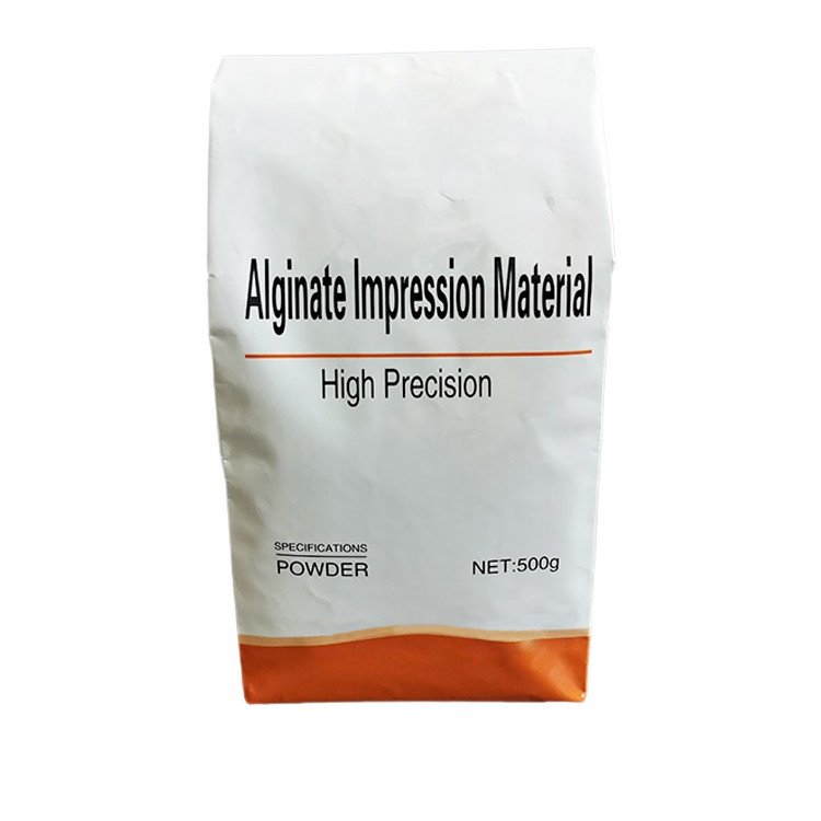 Hot Sale High Precision Chromatic Alginate Impression Powder Three Colours Change Dental Denture Material 454g 500g