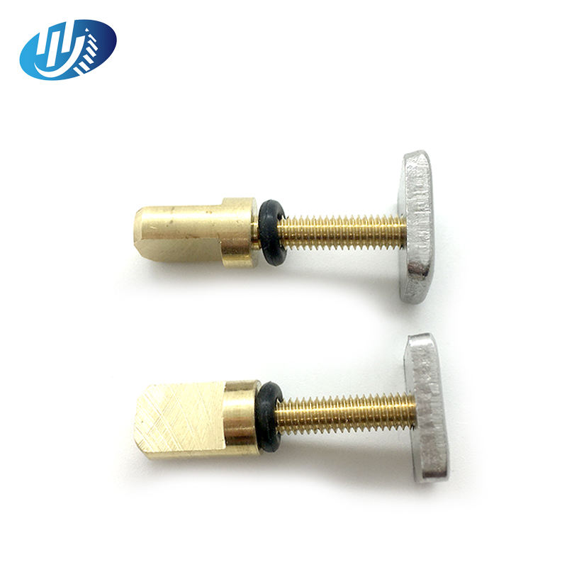 No Tool Slotted And Cross Fin Hand spring Screw and square plate for Longboard and SUP