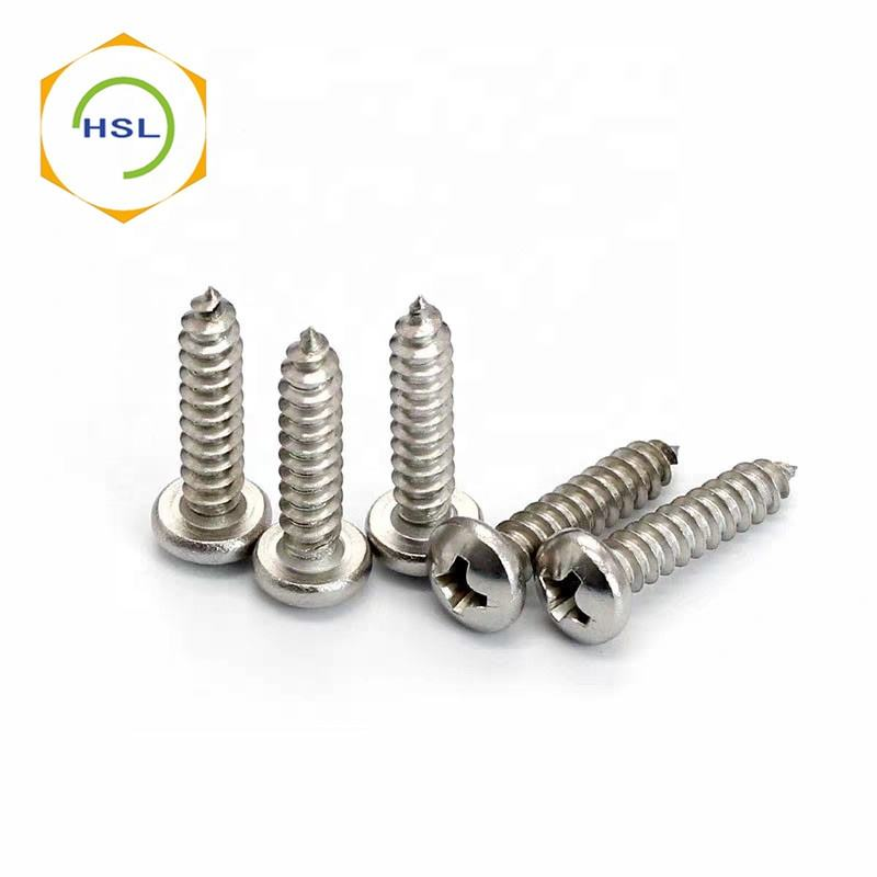 6g 8g 10g 12g STAINLESS STEEL TORX PIN BUTTON HEAD SELF TAPPING SECURITY SCREW