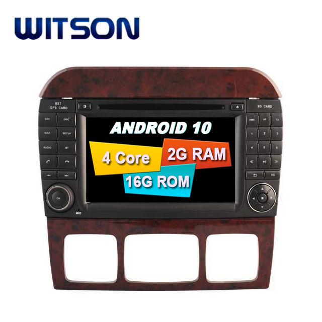 WITSON ANDROID 10,0 для MERCEDES-BENZ S W220 S280 S320 S350 S400 S430 S500 ANDROID автомобильный DVD плеер GPS