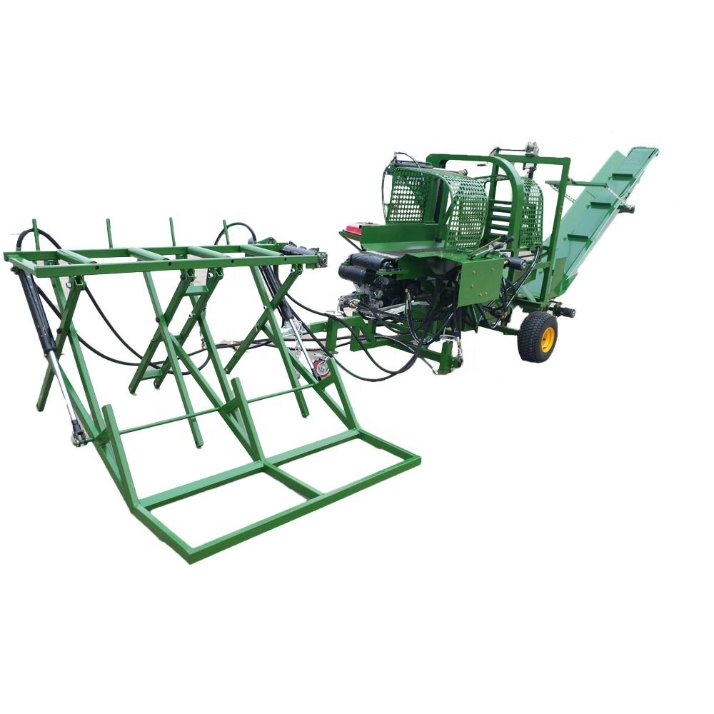 log splitter and FIREWOOD PROCESSOR with lift