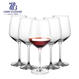 Mail order 620ml cheap wine glass cup with stemware big drinking glass goblet bubble glass goblet for parties wedding