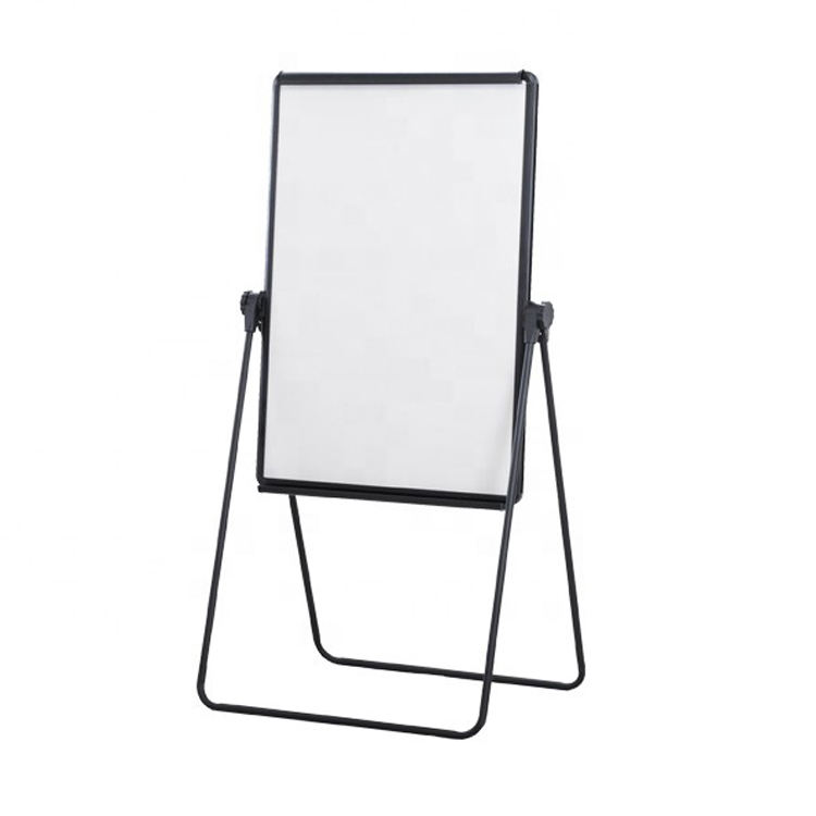 U-stand white board easel magnetic dry erase double sided flip chart board for office school home