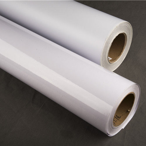 Factory Direct Inkjet Printable White PVC Self Adhesive Vinyl Gloss Roll Printing Sticker For Car car body sticker