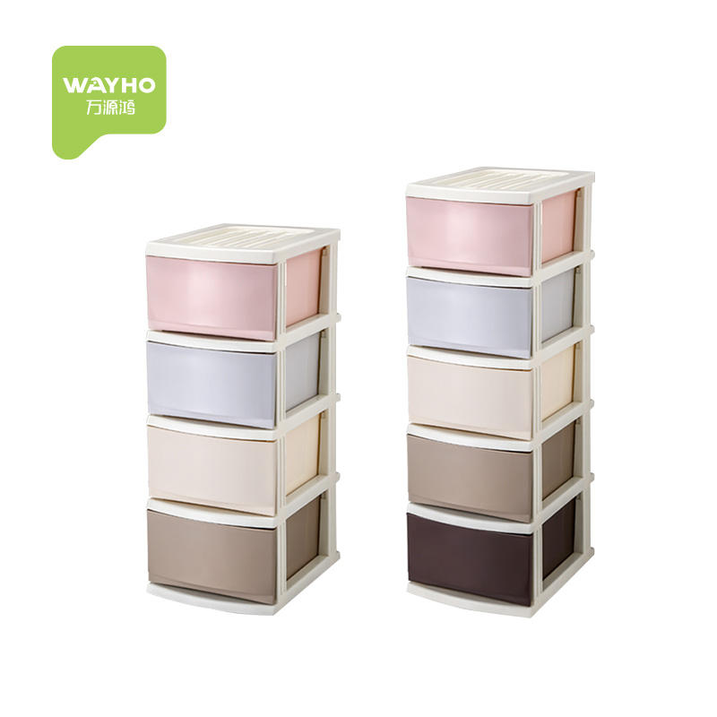 Plastic Drawer Storage Cabinets High Quality Plastic Combined Drawer Storage Cabinet For Clothing