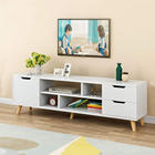 Modern Wood Multipurpose Organizer Coffee Table Television Stands TV Stand for Home Living Room