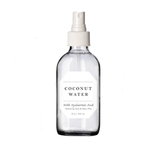 Organic Coconut Water Spray Hyaluronic Acid for Anti-aging Soothes Dry Skin Firming Face Toner with Private Label