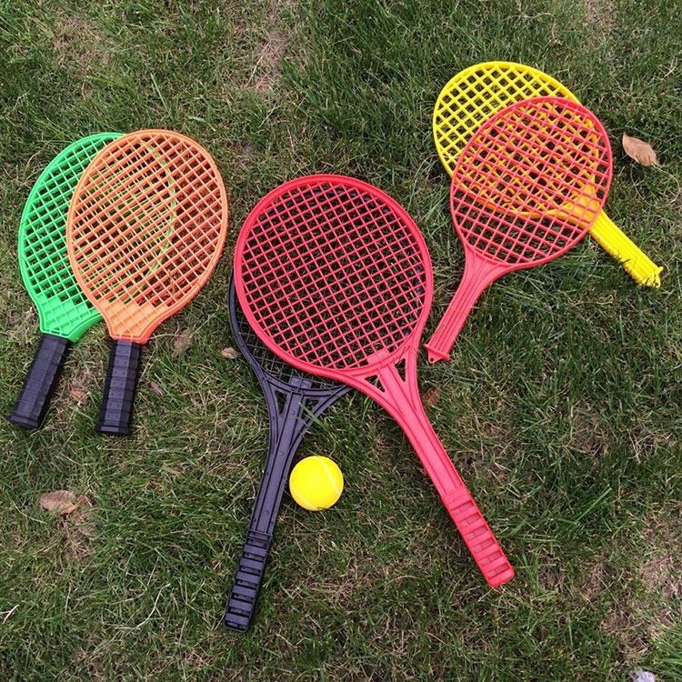 Factory Wholesale Tennis Racket Custom Logo Plastic Paddle Tennis Bat