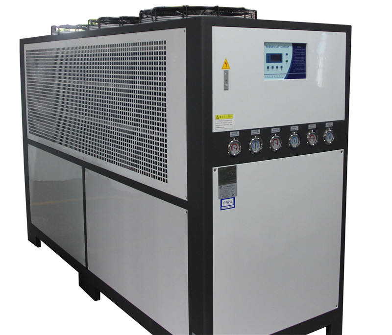 Lechang CE standard 10 HP plastic processing industrial air cooled water chiller