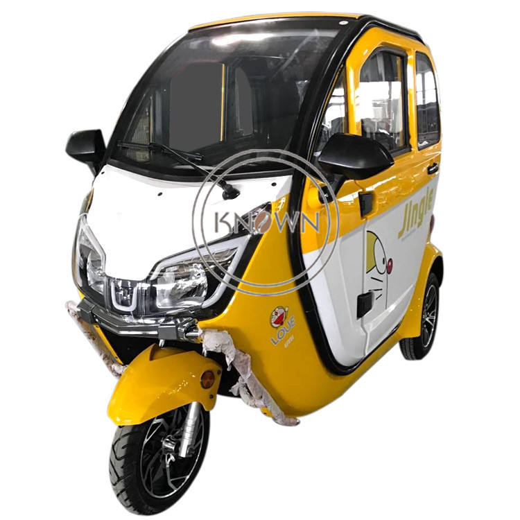 Mini Passenger Electric Tricycle Family Using 3 Wheel Car for Sale Adults Motorized Tricycles with COC EEC