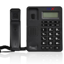 DEX corded telephone landline phone 18years factory  wall mounted customizable functions telephone  high quality DTMF/FSK OEM