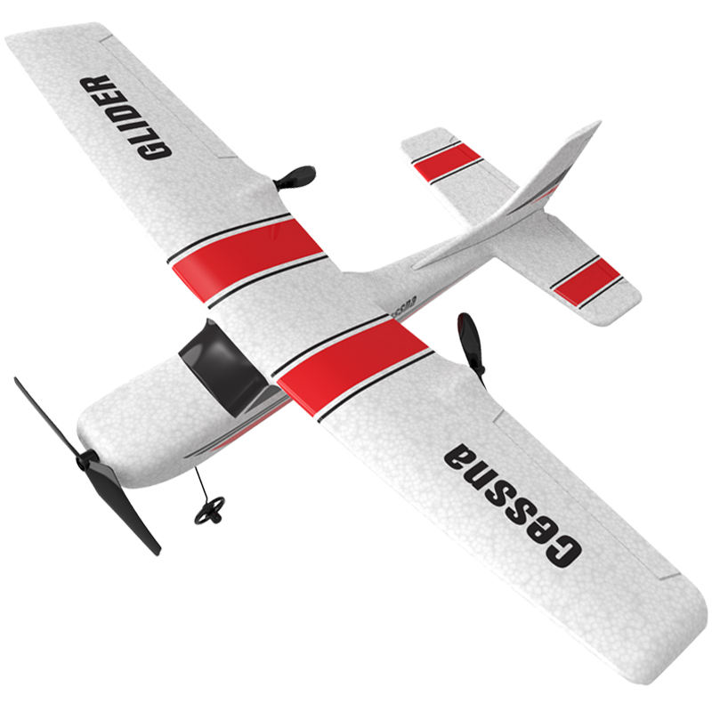 2019 New Arrival HOSHI ZC Z53 Airplane Toy Drone 2.4G 2CH Foam EPP Wingspan Propeller Aircraft Remote Control Glider Easy To Fly
