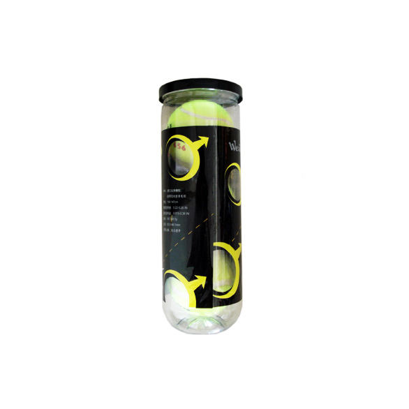 Tennis Ball Manufactures Wear Resistant Customized Logo High Quality Professional Match Tennis Ball