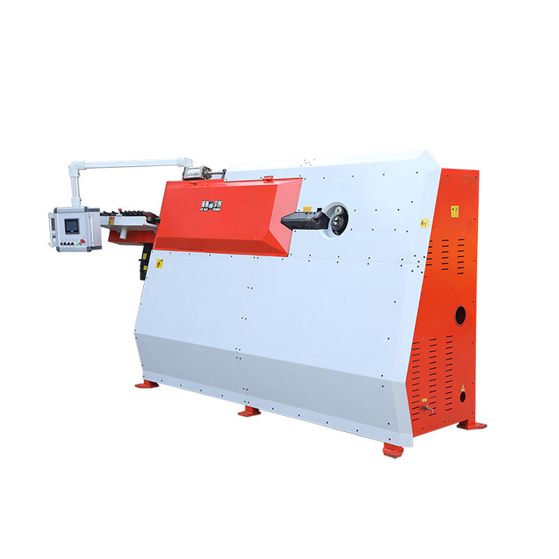 GTW 4-12 CNC wire bending machine 6 8 10 12mm steel rebar automatic stirrup bending machine electrical rebar bender