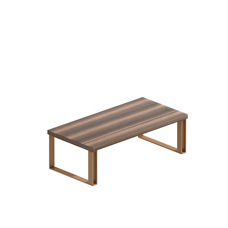 Modern Melamine Surface MDF Wooden Coffee Table Chinese Tea Table