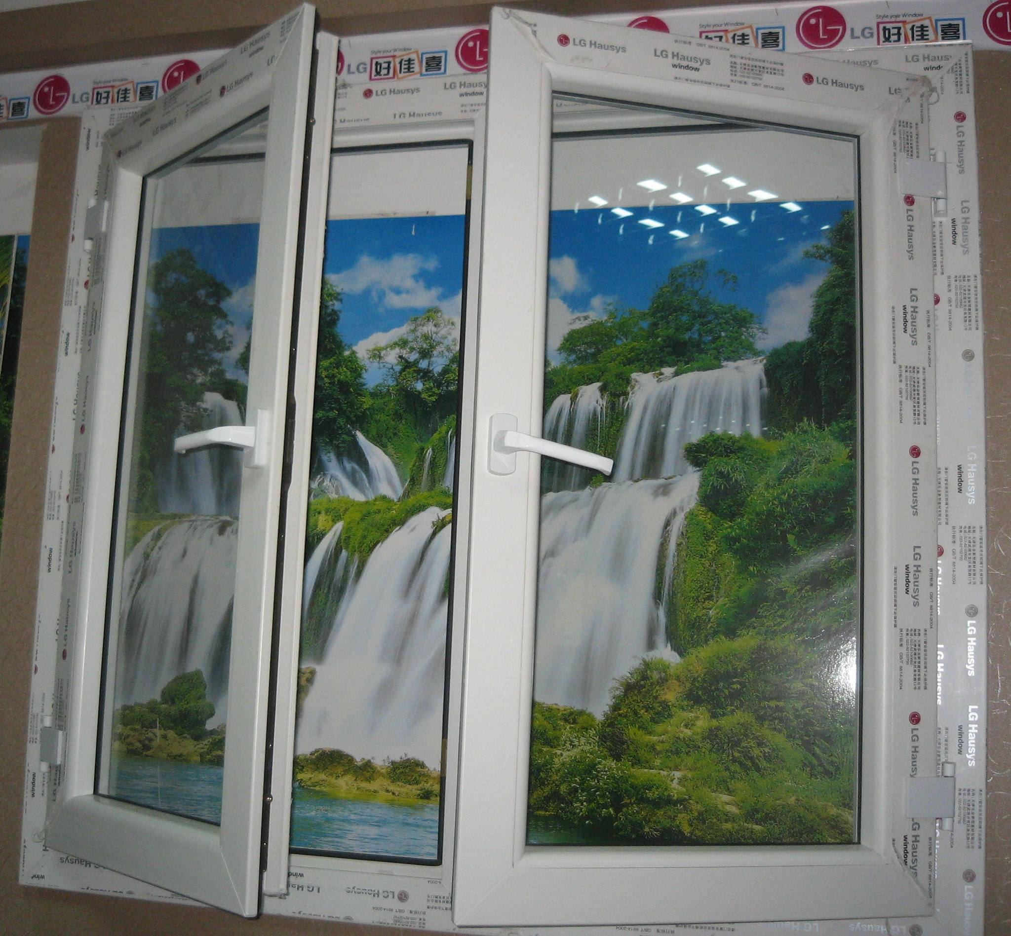 OEM price veka PVC UPVC casement window ventilation awning windows