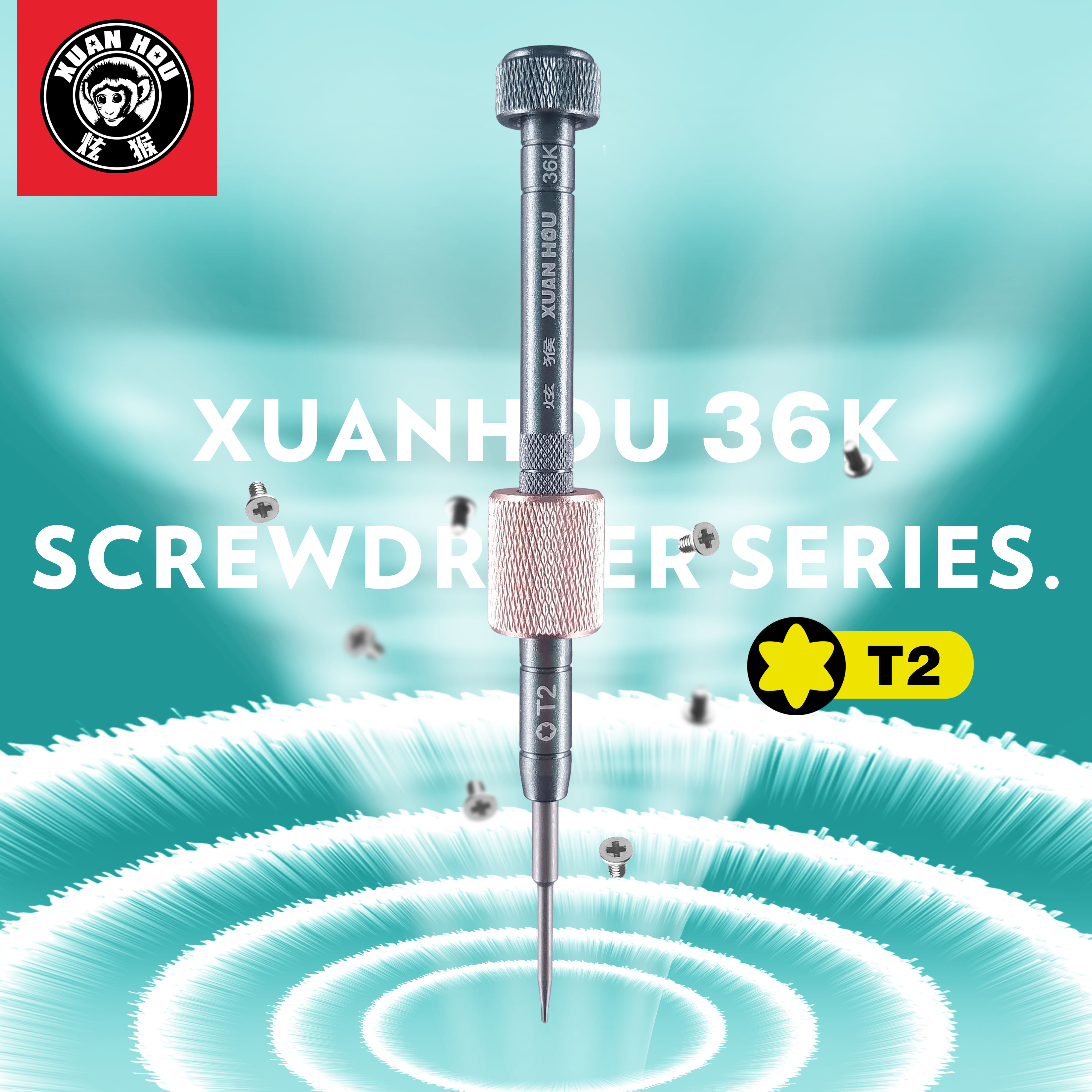 ZWX XUANHOU 36K screwdriver cross 1.3 cross 1.5 Five angle 0.8 Triangle 0.7 Six angle T2 metal screwdriver Repair Tools