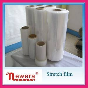 NEWERA LLDPE Industrial Stretch Film Roll China Packaging Transparent Film