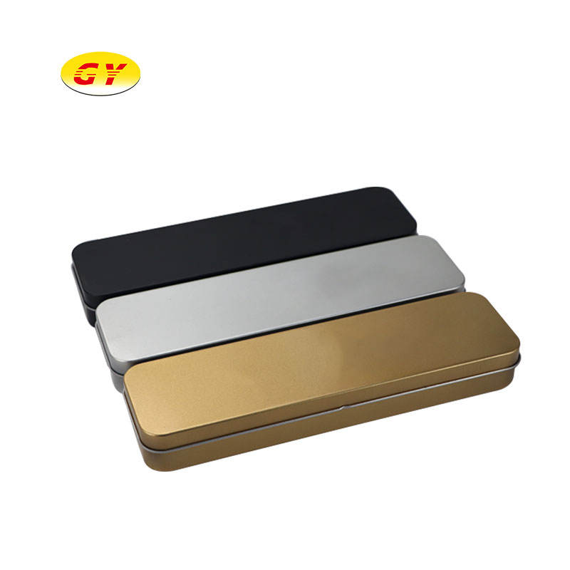 2020 high-end stationery box metal gift box can be closed manually