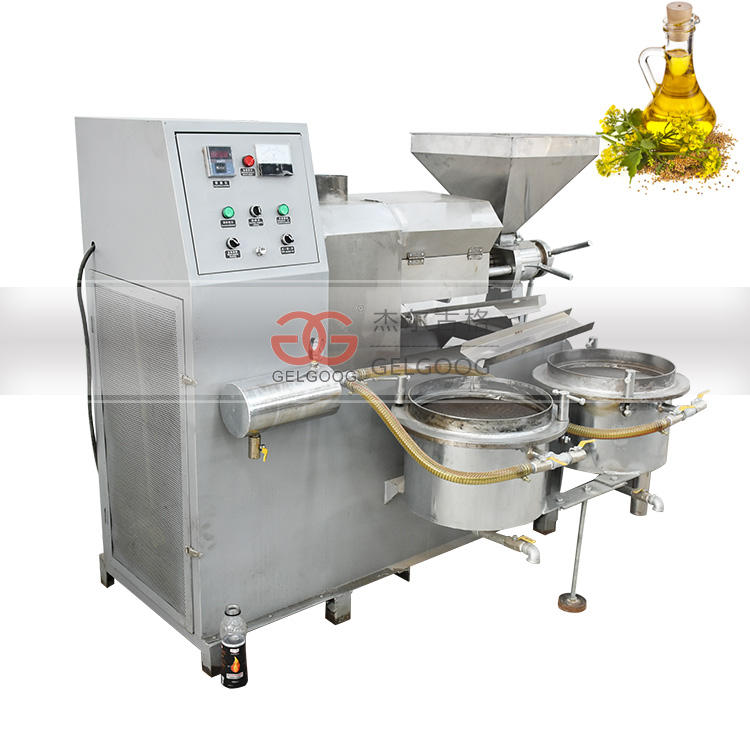 Small Scale Cold Press Virgin Coconut Oil Extraction Canola Argan Olive Essential Oil Press Palm Oil Processing Machine