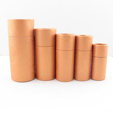 Inventory eco-friendly paper tube for tea packaging the gift paper box for candy packaging Paper Tube Cylinder Box for bottle