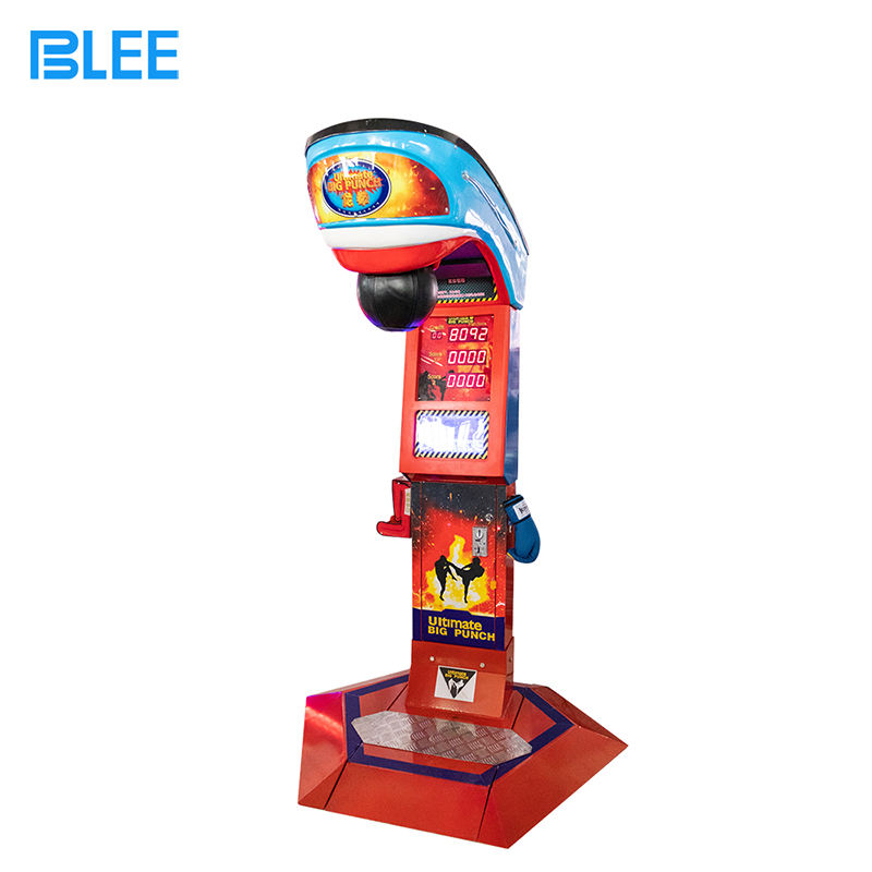 8 Years 2020 Big Punch- Redemption Arcade Game Machine Hit Hammer Game Machine
