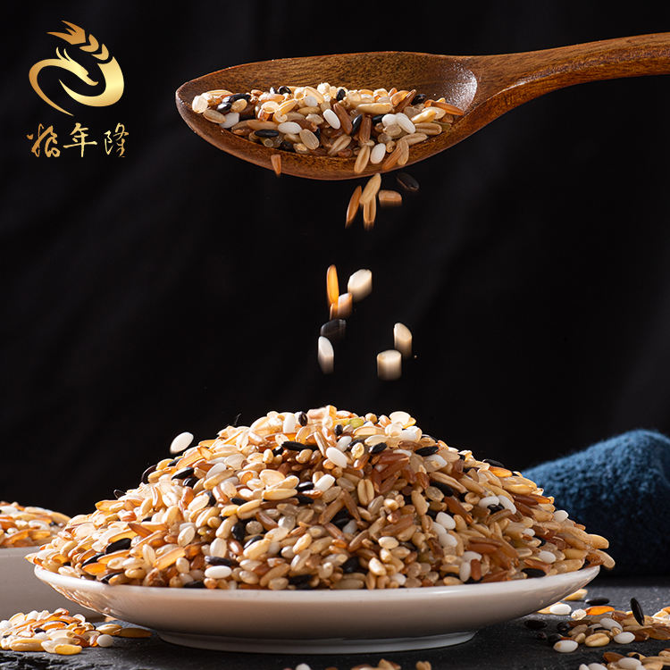 Ecological Cultivation Low Temperature Storage High Quality Cereals Combinations Five Kinds Rice