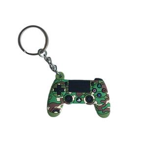 Personalized 3D PVC key chain key ring custom make metal video game controller keychains