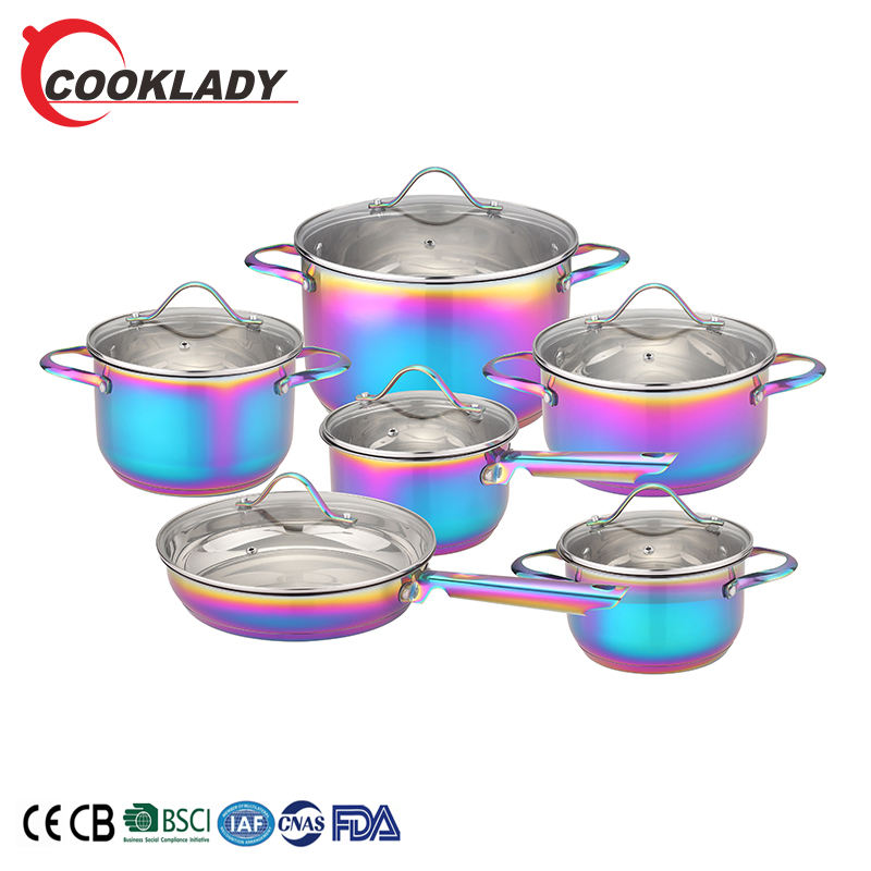 Best Quality Non Stick Pro Ware Well Equipped Kitchen Fair Stainless Steel Pot Cookware