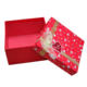 Hot Sale Red Christmas Gift Box Ornaments Glitter Present Boxes Wholesale