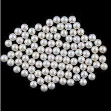 Good quality0.8mm 0.9mm 1.2mm half drilled shape white loose flawlwss natural pearl