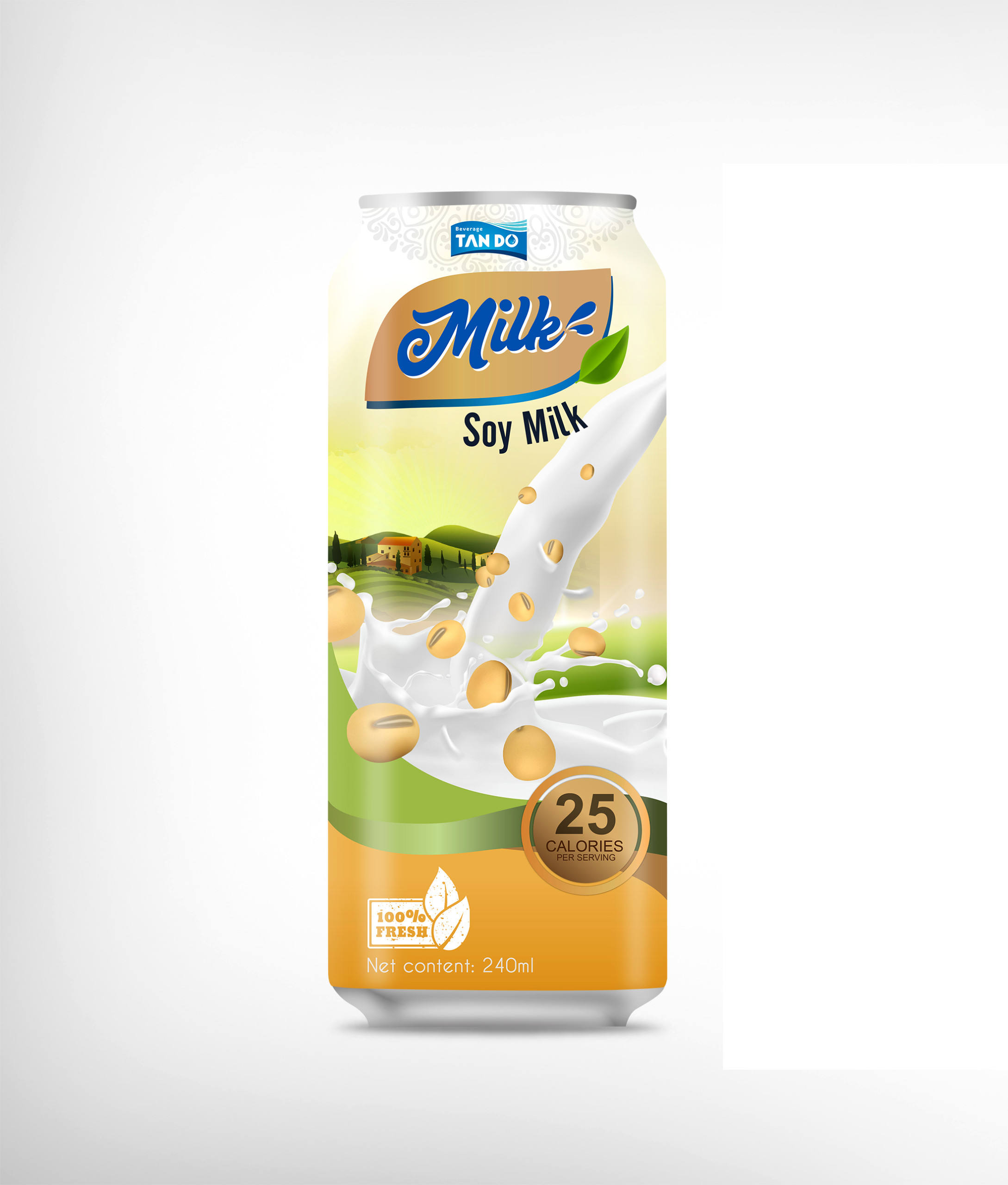 Soy milk brand flavored beverage factory private brand high quality