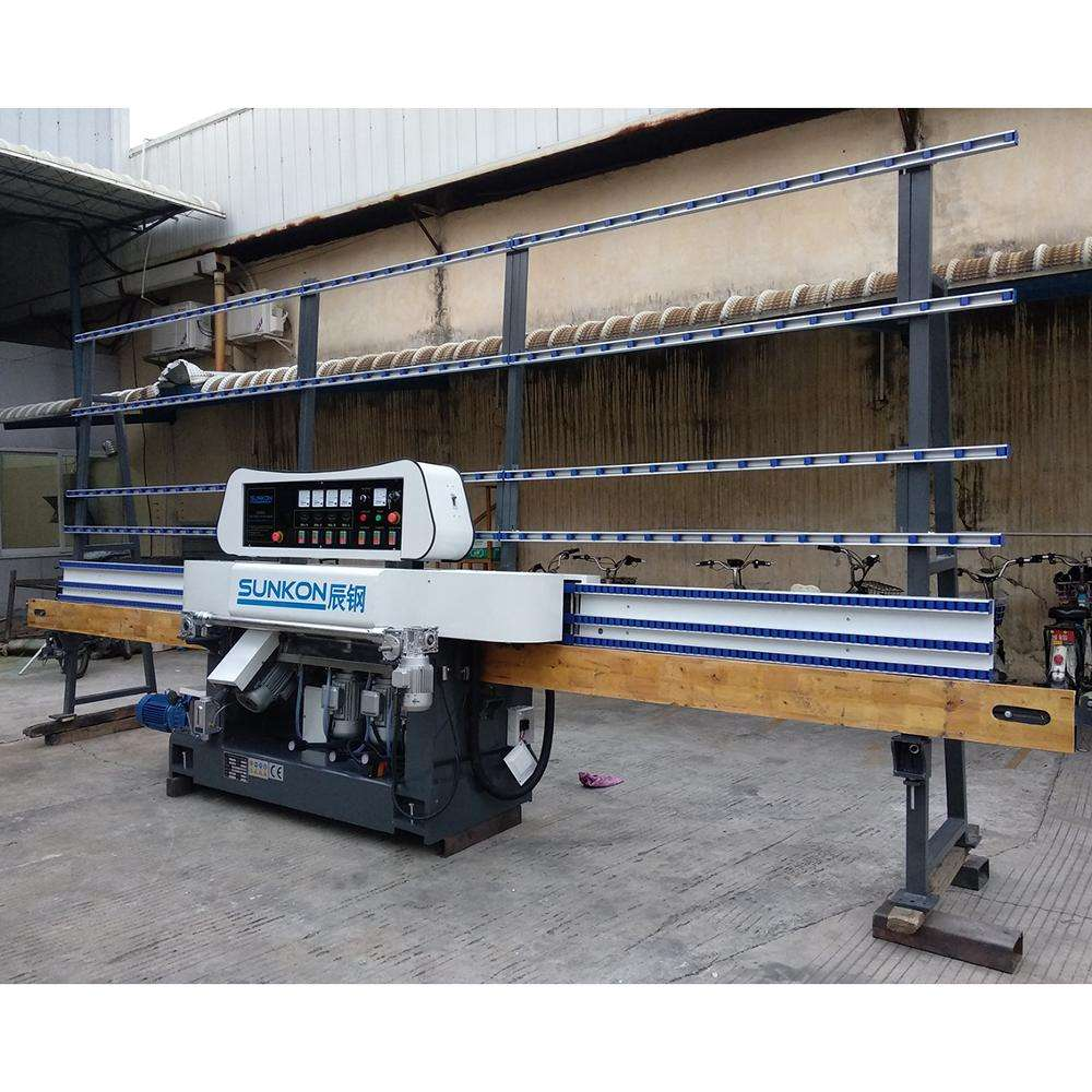 4 motor glass straight line edging and polishing machine for CGZ4325